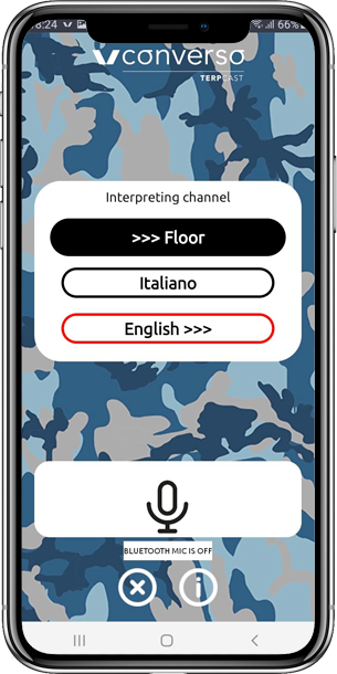 TerpCast app: le soluzioni per gli interpreti